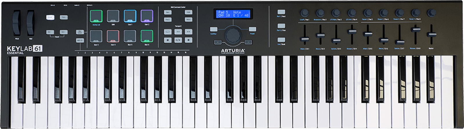 Arturia KeyLab Essential 61 Black Limited Edition