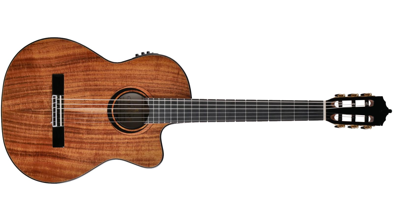 Artesano Nuevo Koa Cut Konzertgitarre