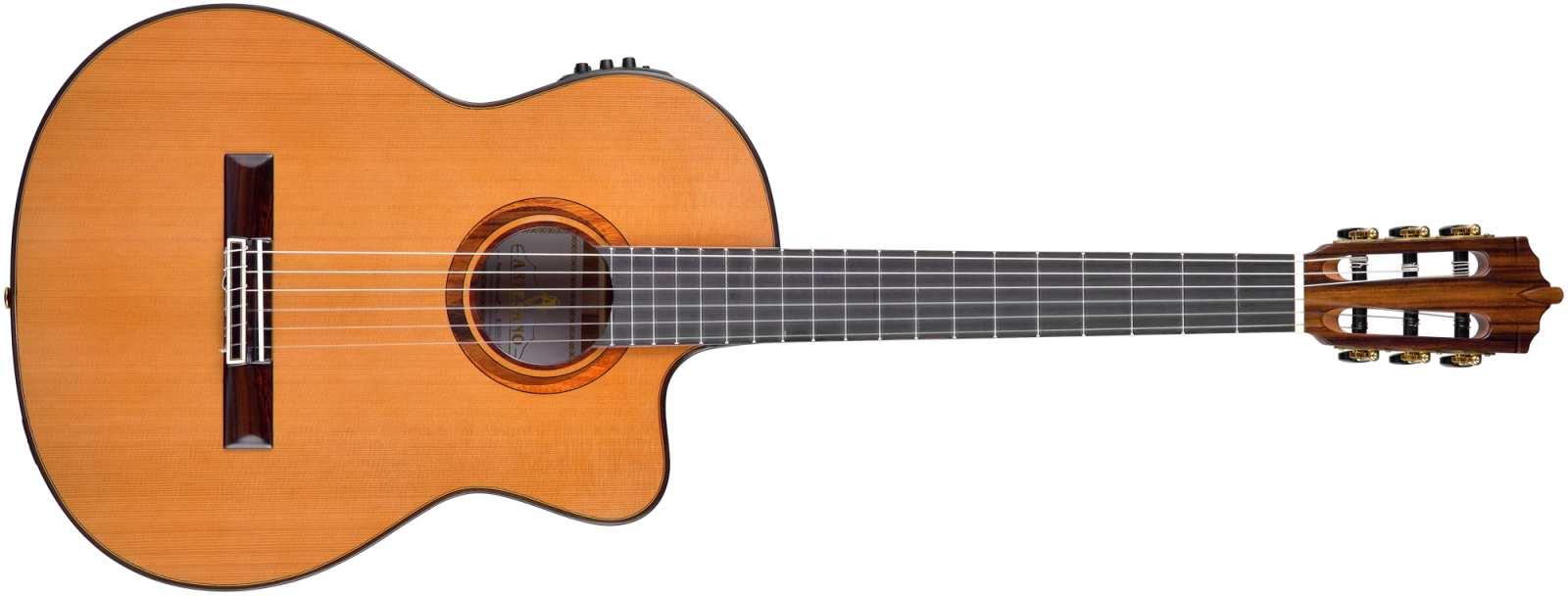 Artesano Nuevo Marron Cut Konzertgitarre