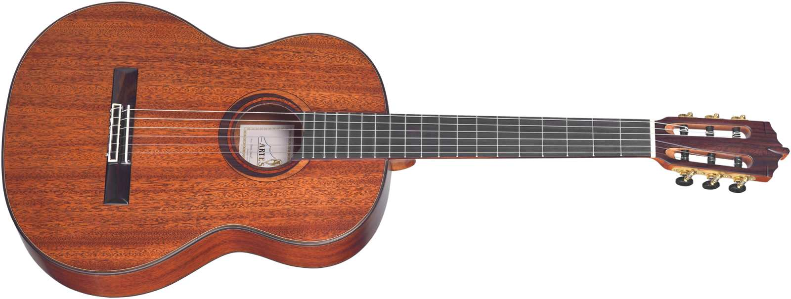 Artesano Nuevo Oscuro Konzertgitarre Mahagoni
