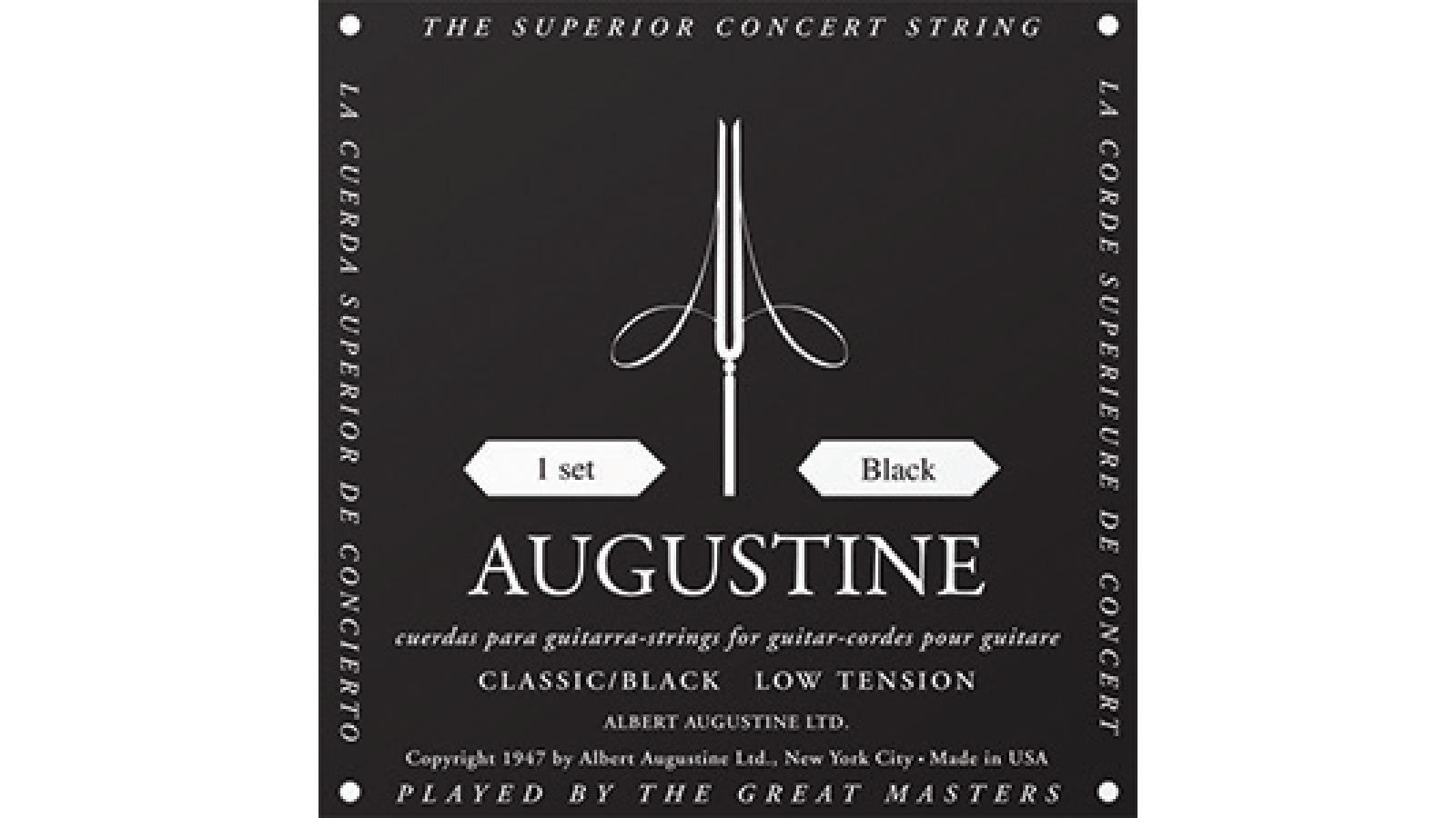 AUGUSTINE BLACK Konzertgitarren Saiten