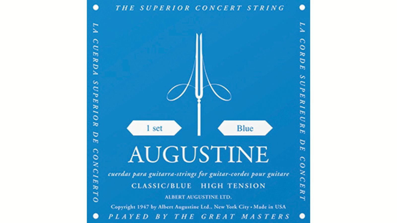 AUGUSTINE Blue Konzertgitarren Saiten