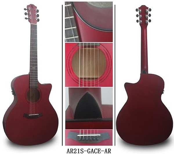 Baton Rouge AR21S/GACE-AR Westerngitarre