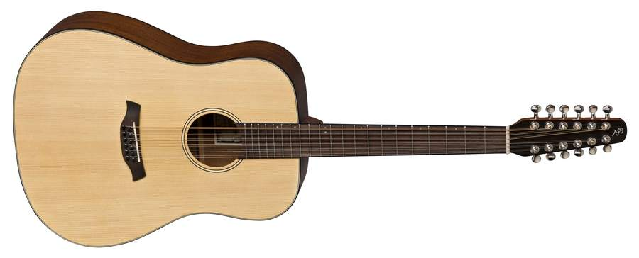 Baton Rouge L1LS/D-12 natur Dreadnought