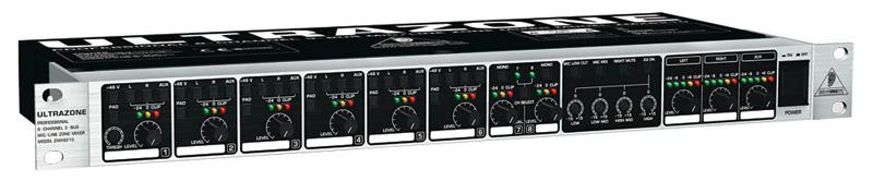 Behringer ZMX8210 ULTRAZONE 8-Kanal Audiomixer