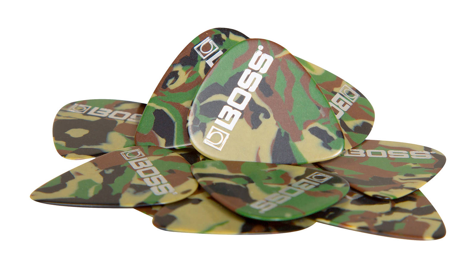 Boss BPK-12-CT Picks Camo 12er-Pack