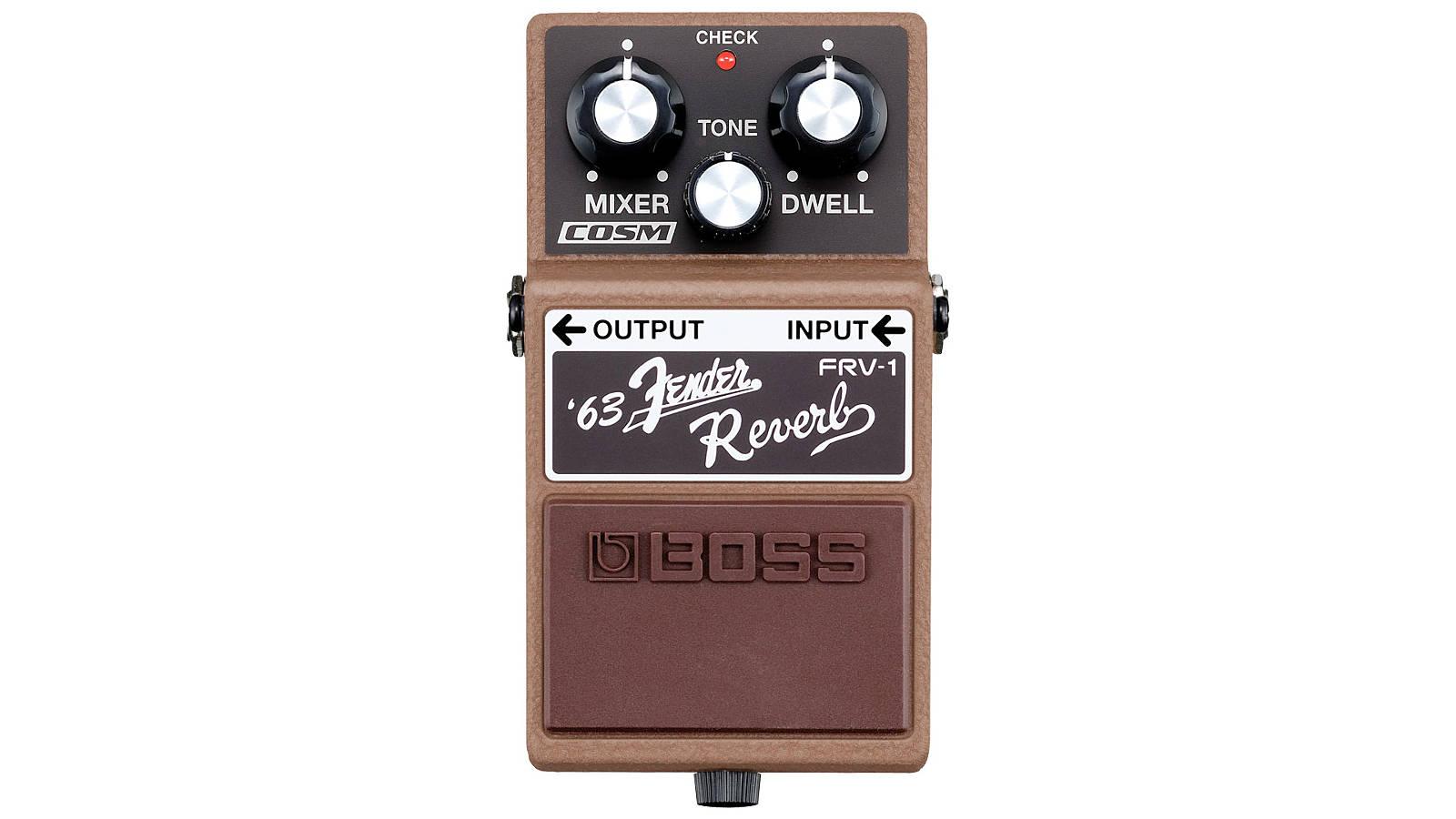 Boss FRV-1 Reverb Pedal