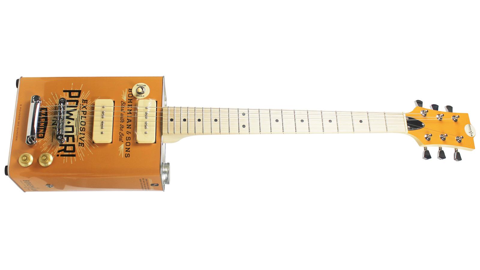Bohemian BG15TNT Oil Can Gitarre TNT