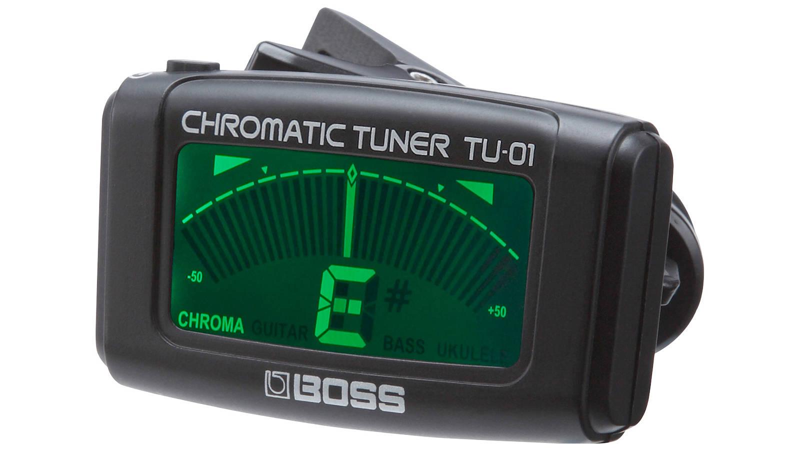 Boss TU-01 Chromatischer Clip Tuner