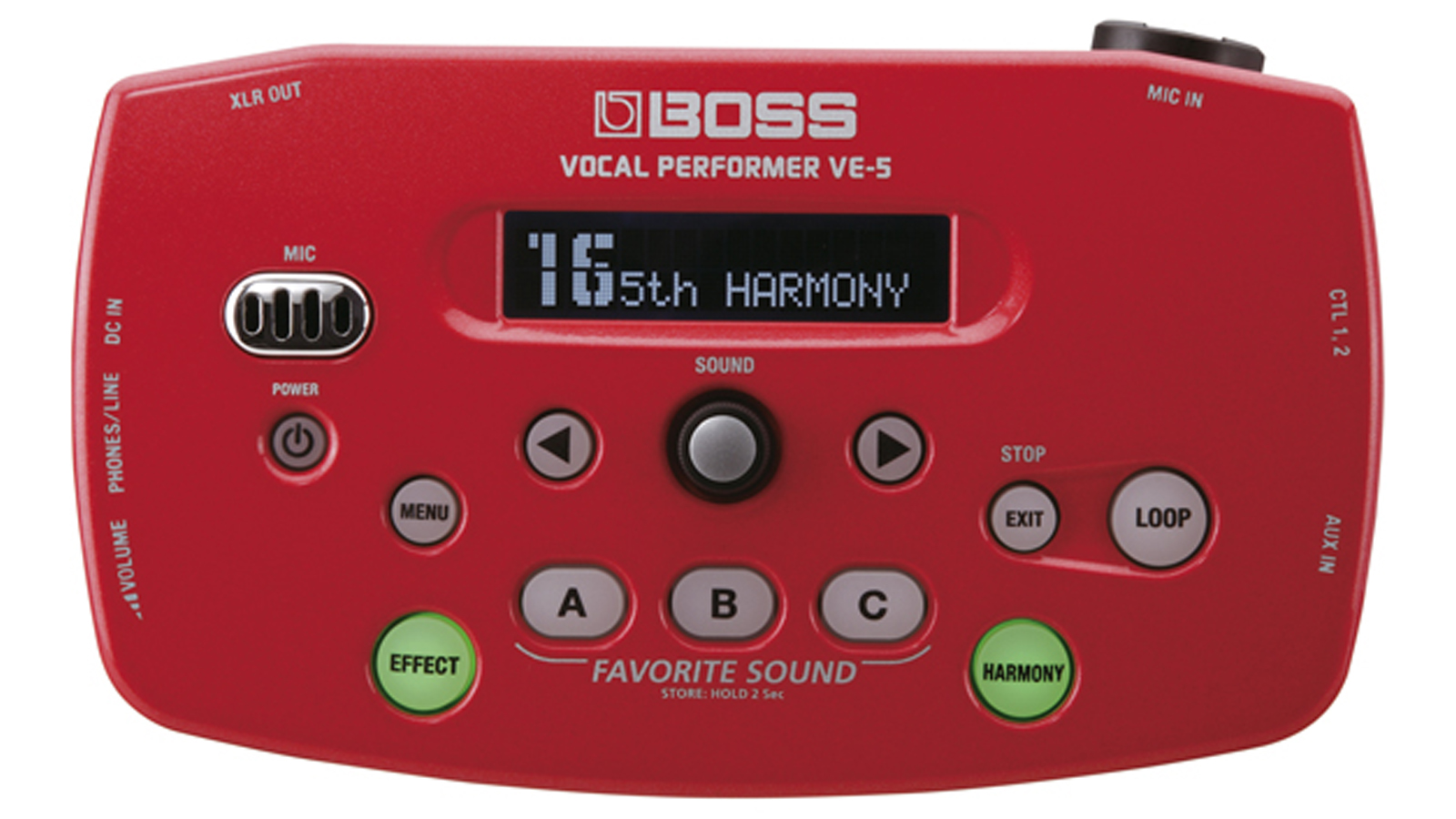 Boss VE-5 RD Vocal Performer