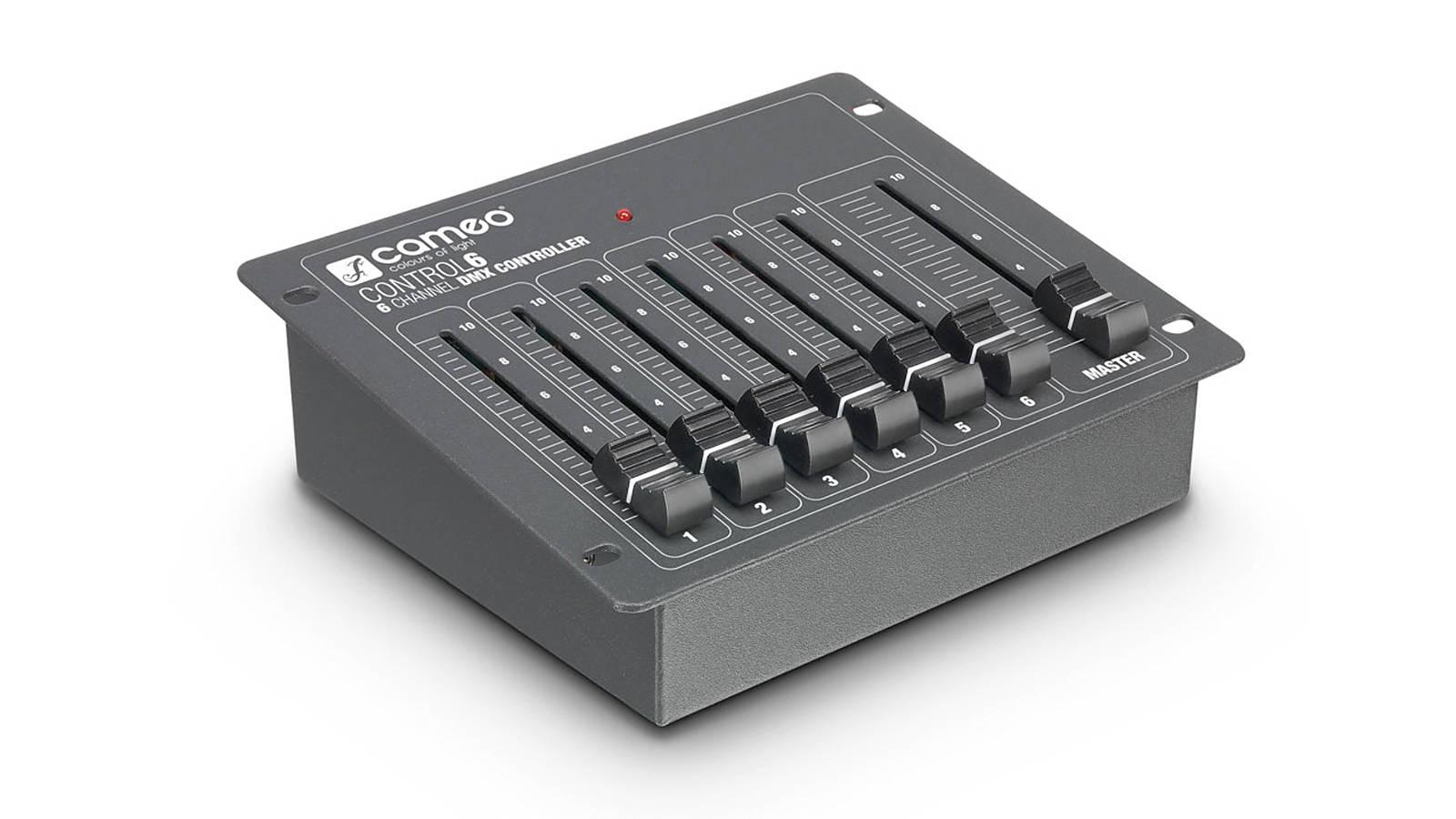 CAMEO CONTROL 6 6-Kanal DMX-Controller