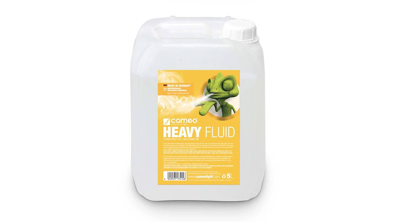 CAMEO HEAVY FLUID 5L Nebelfluid