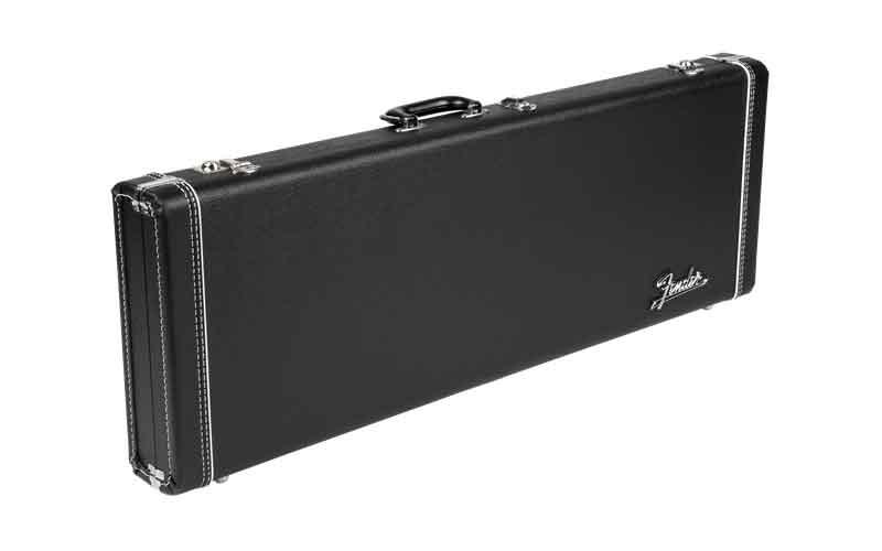 Fender E-Gitarren Case DLX Black Tolex
