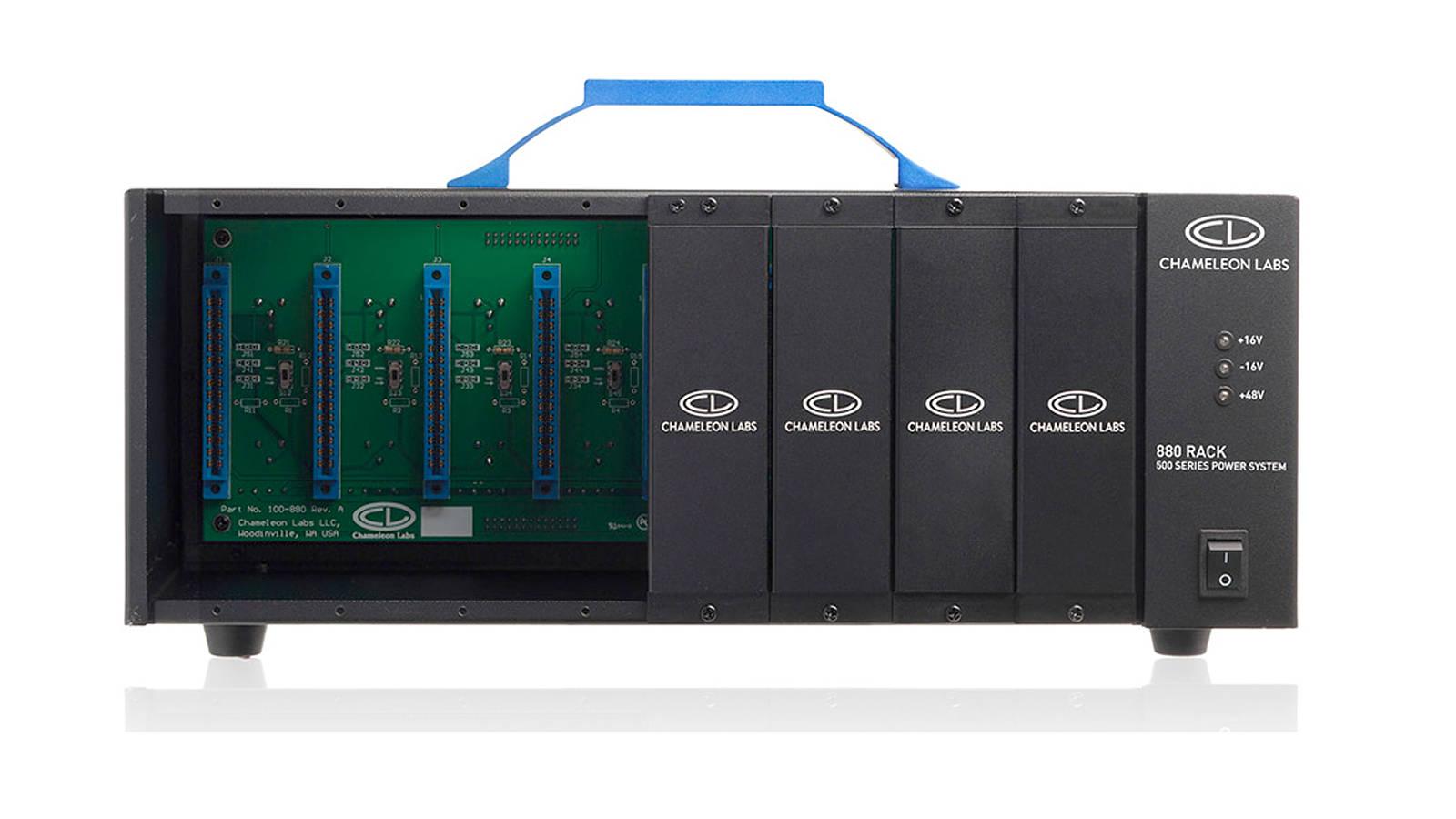 Chameleon Labs 880Rack 8-slot 500 Series Powered Rack System