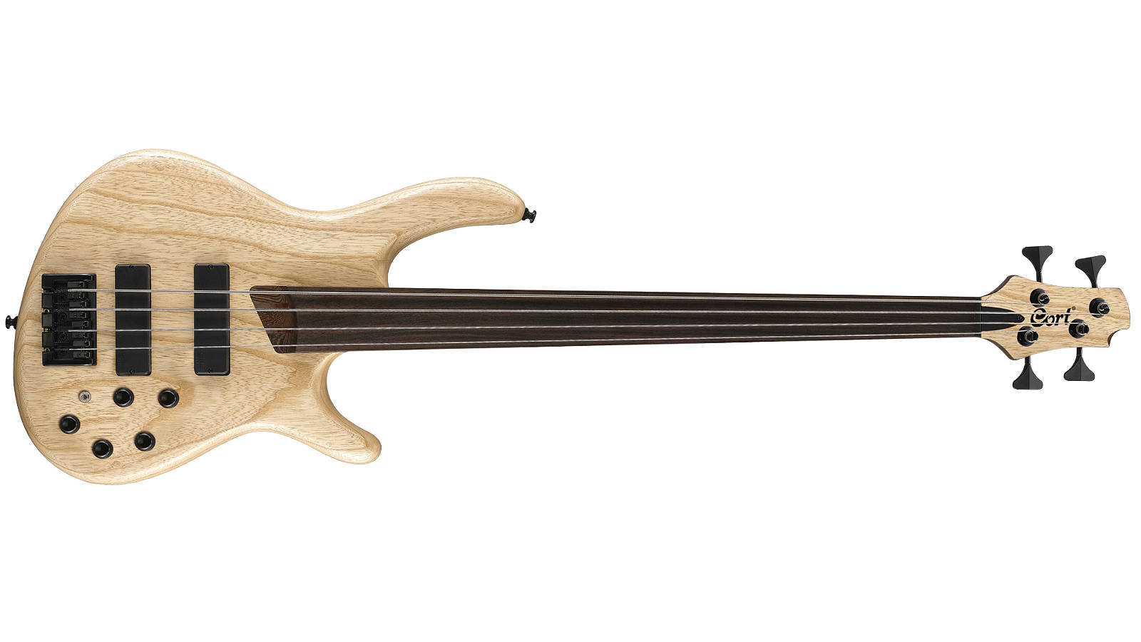 Cort B4 Plus AS FL E-Bass Fretless