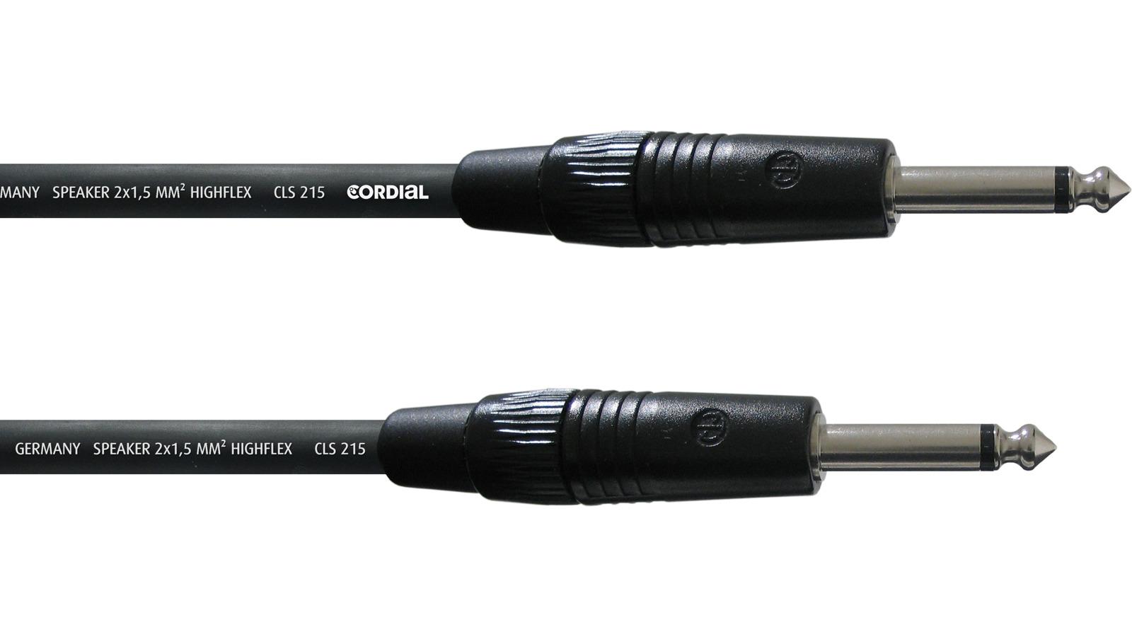 Cordial CPL 1 PP Klinke-Klinke Lautsprecherkabel 5m