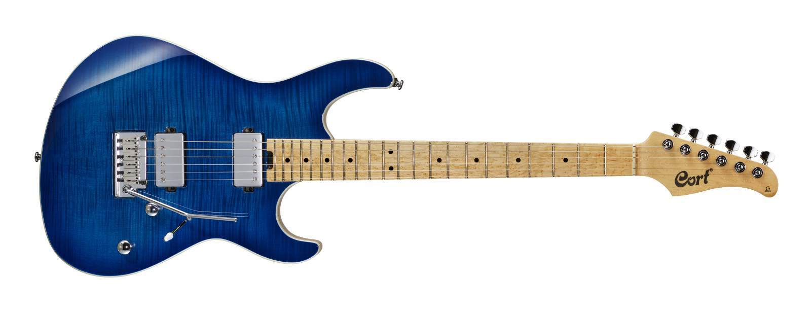 Cort G290 FAT E-Gitarre Bright Blue Burst