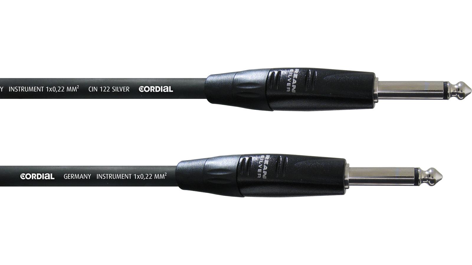 Cordial Instrumentenkabel 0,6 m CII 0,6 PP