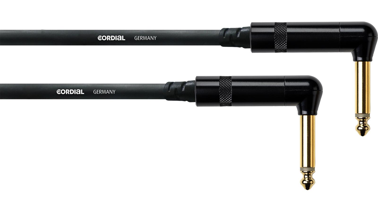 Cordial CFI 3 RR Instrumentenkabel 3 m Winkelklinke