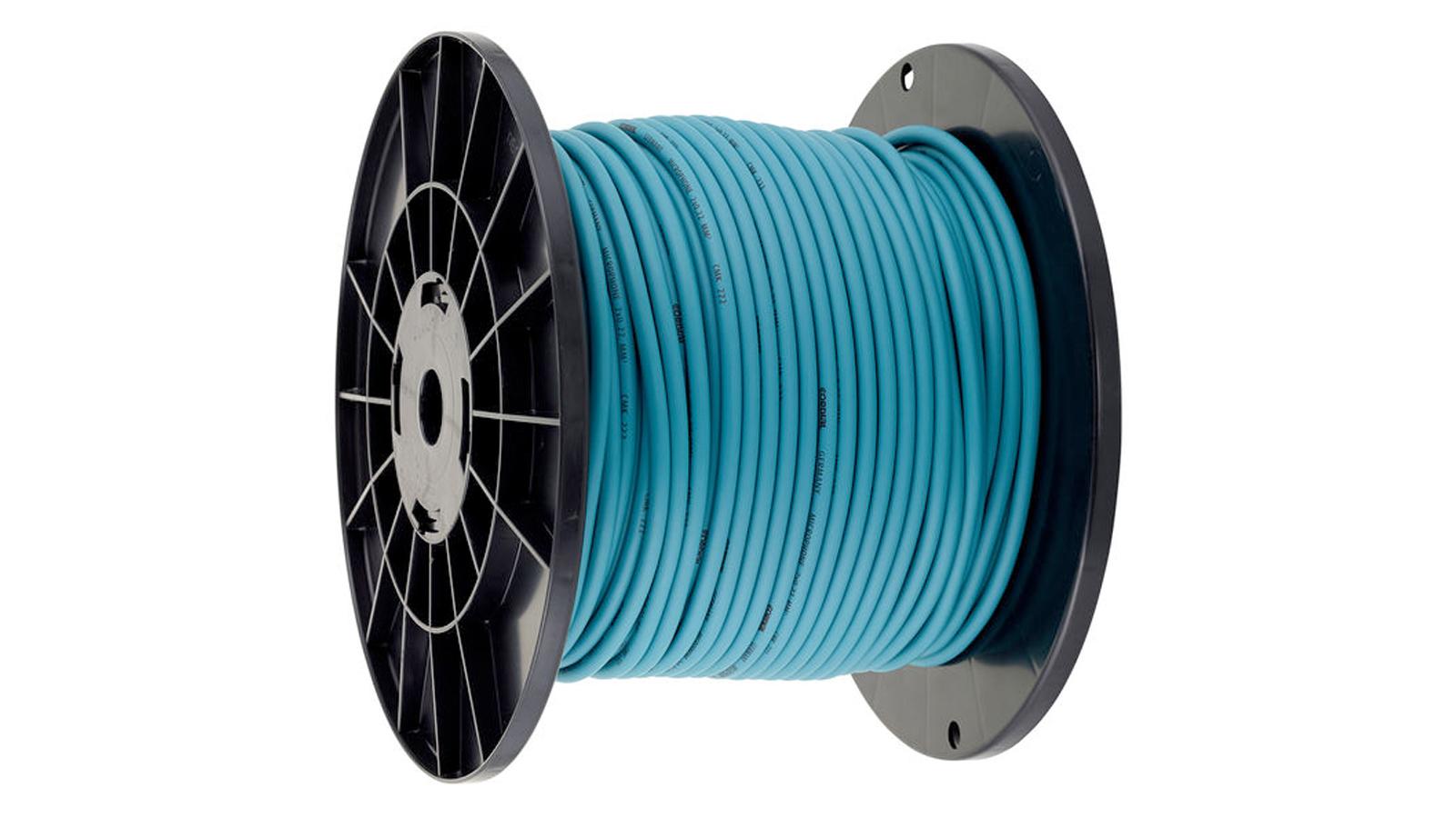 Cordial CMK-222 Mikrofonkabel Blau Rolle