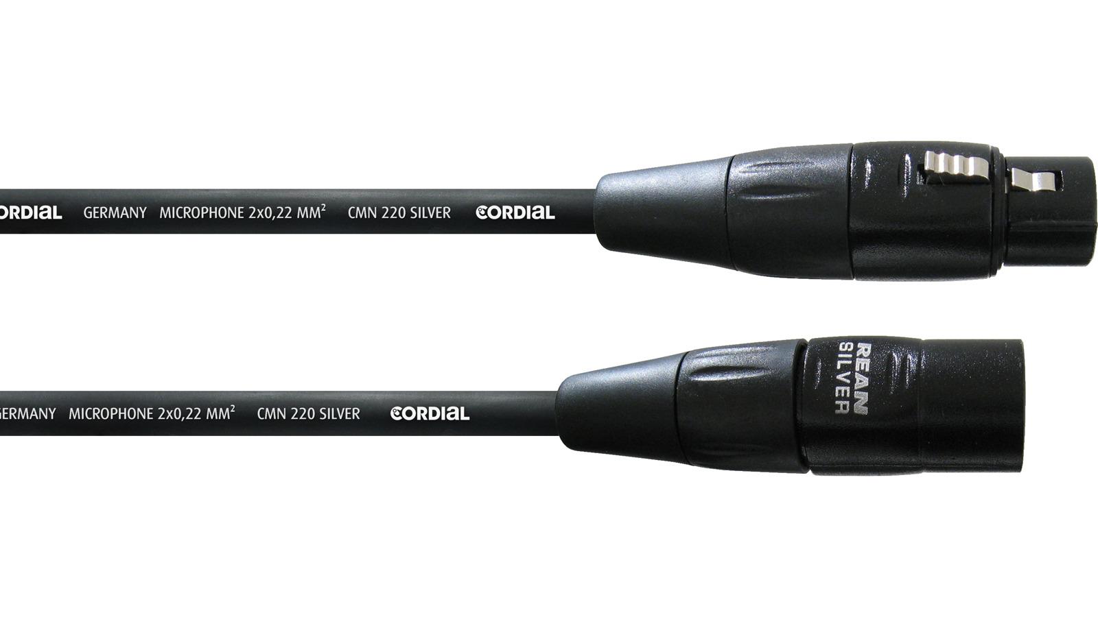 Cordial XLR Mikrofonkabel 1 m CIM1FM