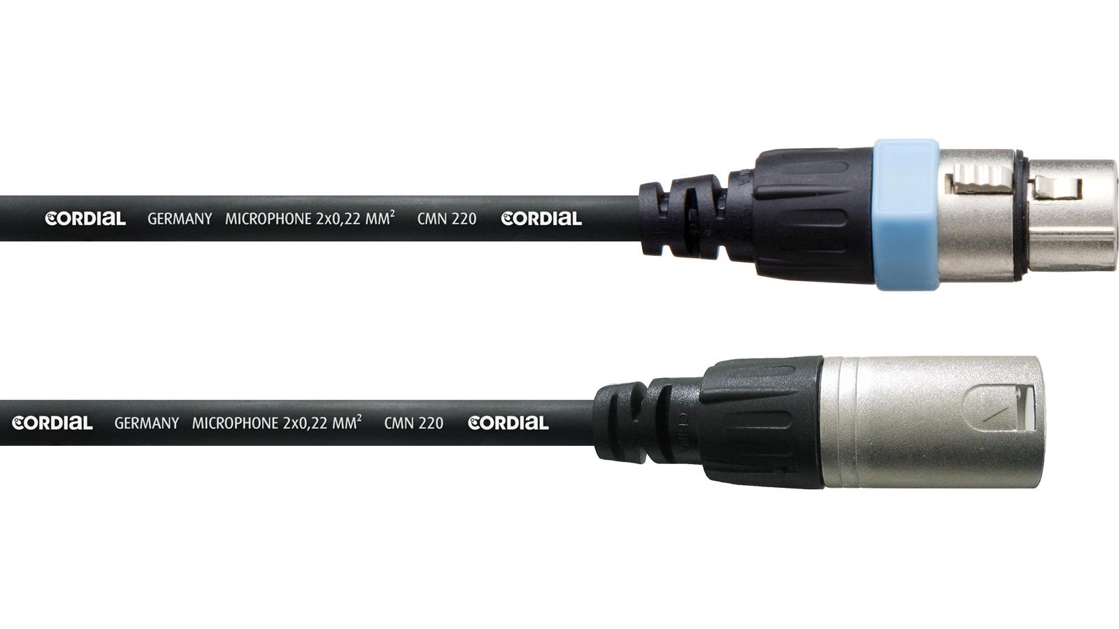 Cordial XLR Mikrofonkabel 1 m CCM 1 FM