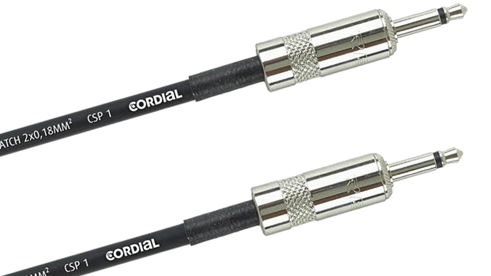 Cordial CPI 1,2 ZZ Patchkabel für Modularsysteme mKL-mKL 120 cm