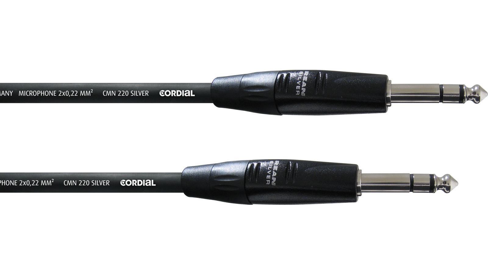 Cordial symmetrisches Klinke Kabel 0,3 m CIM0,3VV