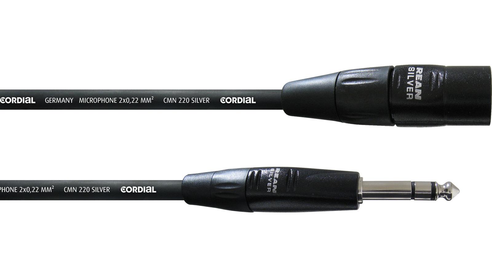 Cordial CIM 6 MV symmetrisches Kabel Klinke-XLR 6 m
