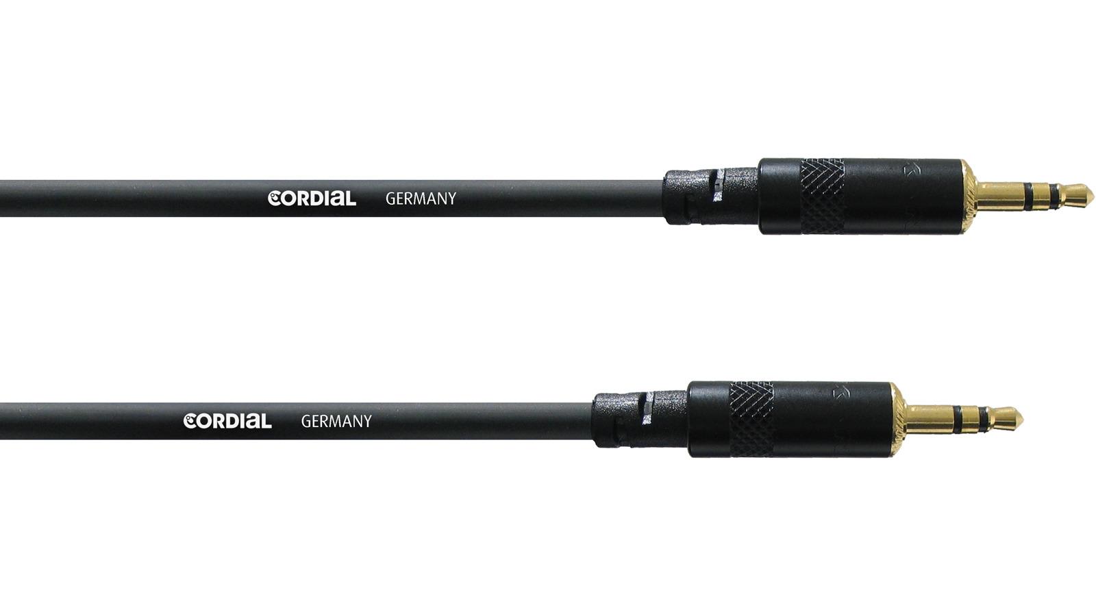 Cordial CFS 3 WW symmetrisches Mini Klinke Kabel 3 m