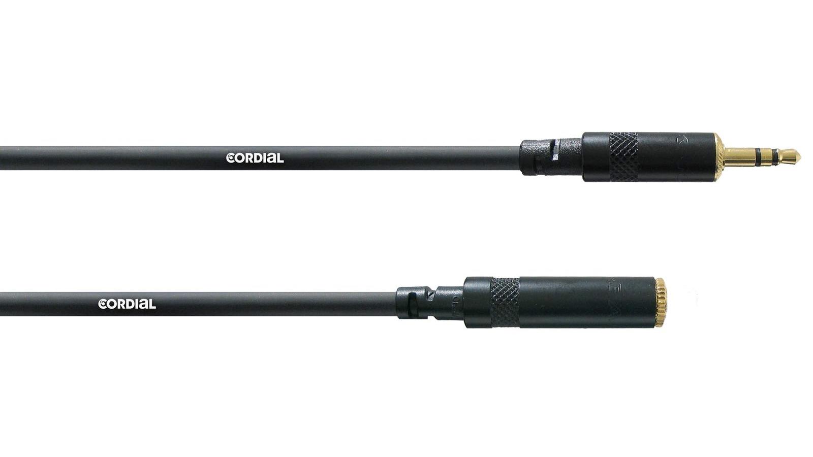 Cordial Verlängerung Mini Klinke 3 m CFS 3 WY