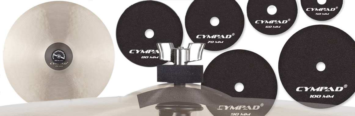 Cympad MD-70 Beckendämpfer Paar