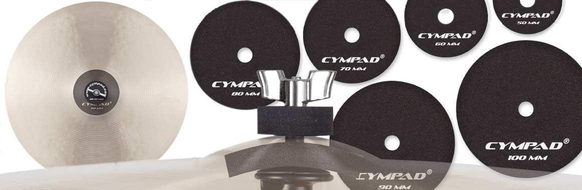 Cympad MD-50 Beckendämpfer Paar