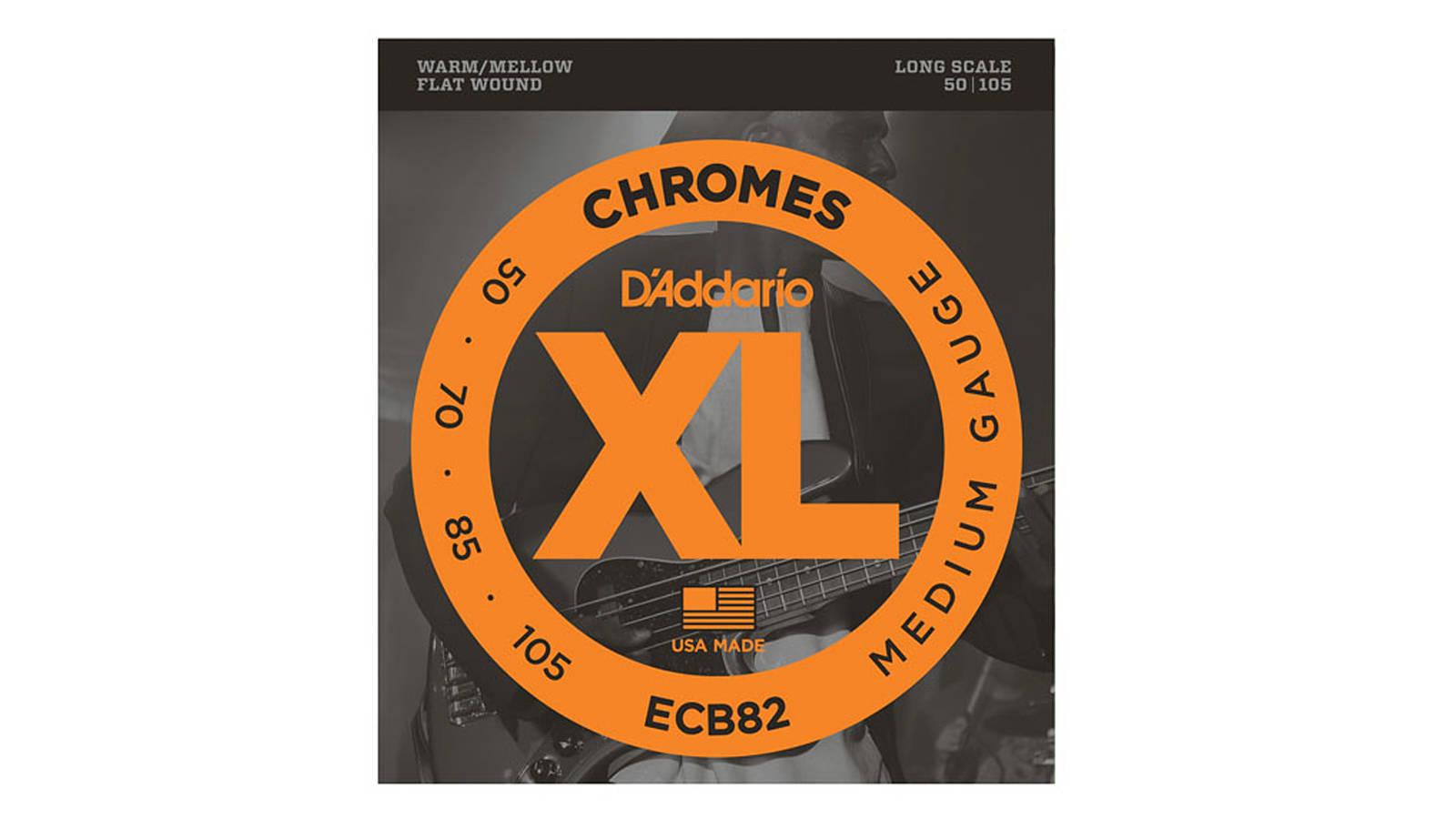 D'Addario ECB82 Flatwound Bass Saiten 050-105