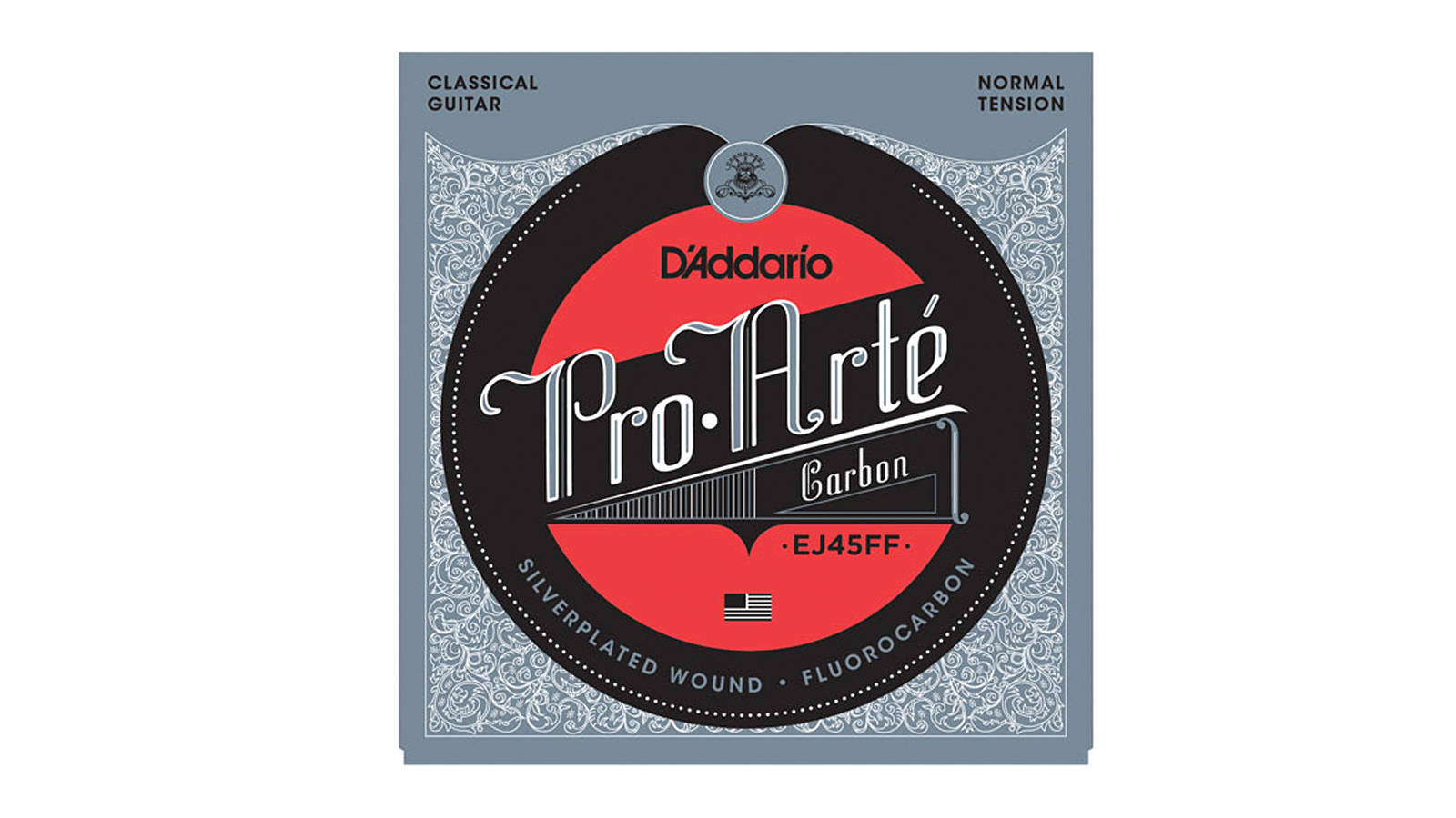 D'Addario EJ45FF Pro-Arté Carbon Konzertgitarrensaiten
