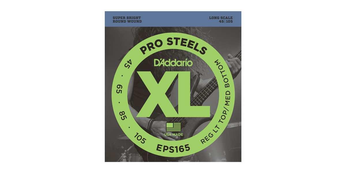 D'Addario EPS-165 ProSteels E-Bass Saiten 045-105