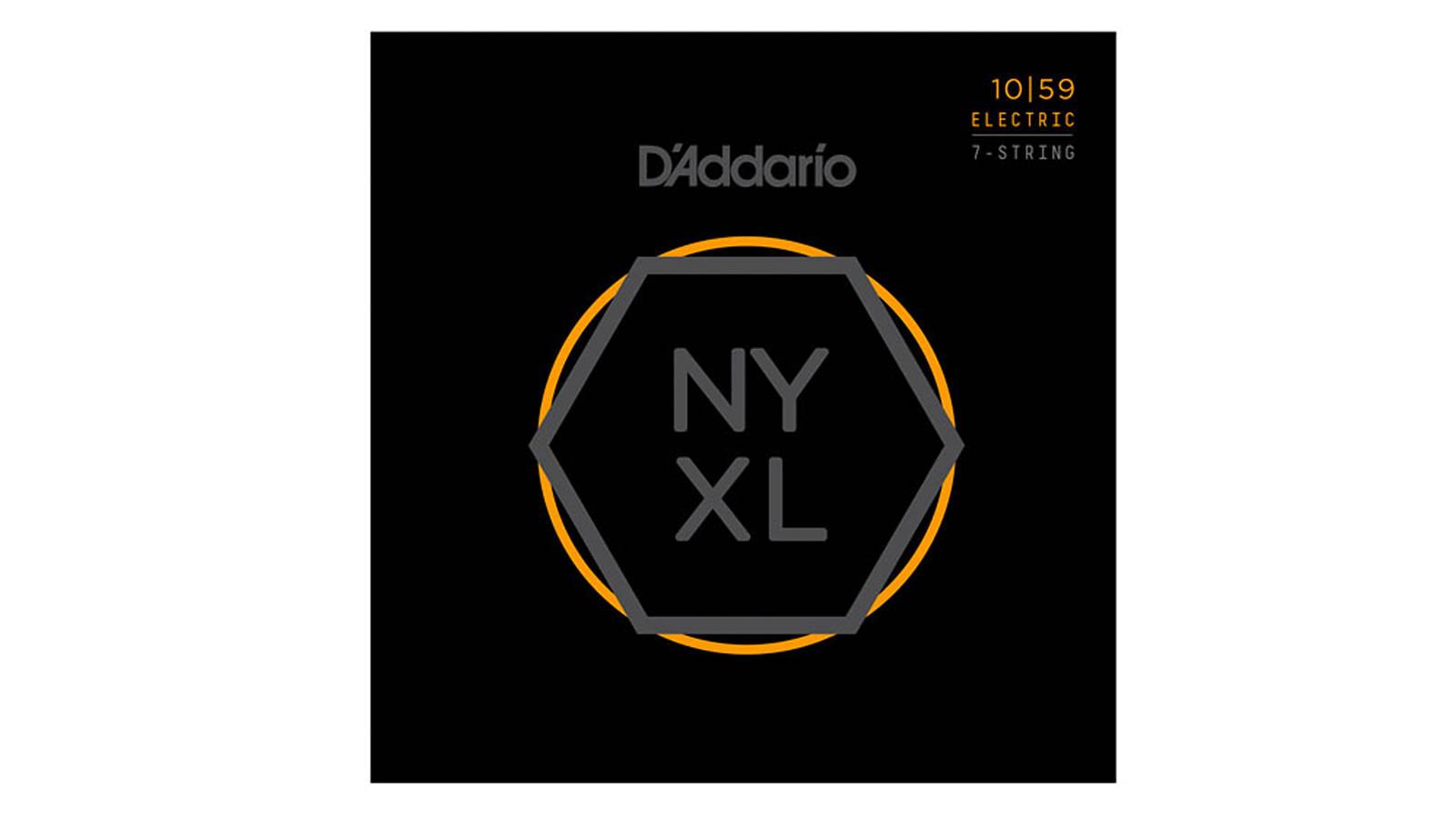 D'Addario NYXL1059 E-Gitarren Saiten 7-Saiter