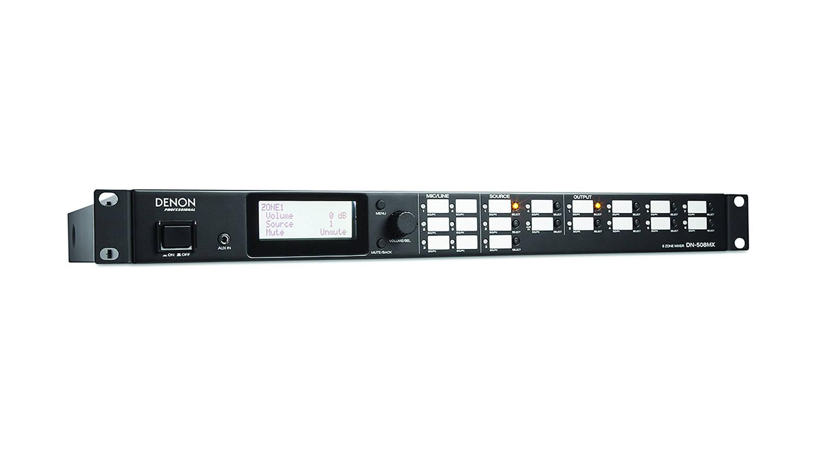 Denon Pro DN-508MX 8-Zonen Mixer mit Browsersteuerung