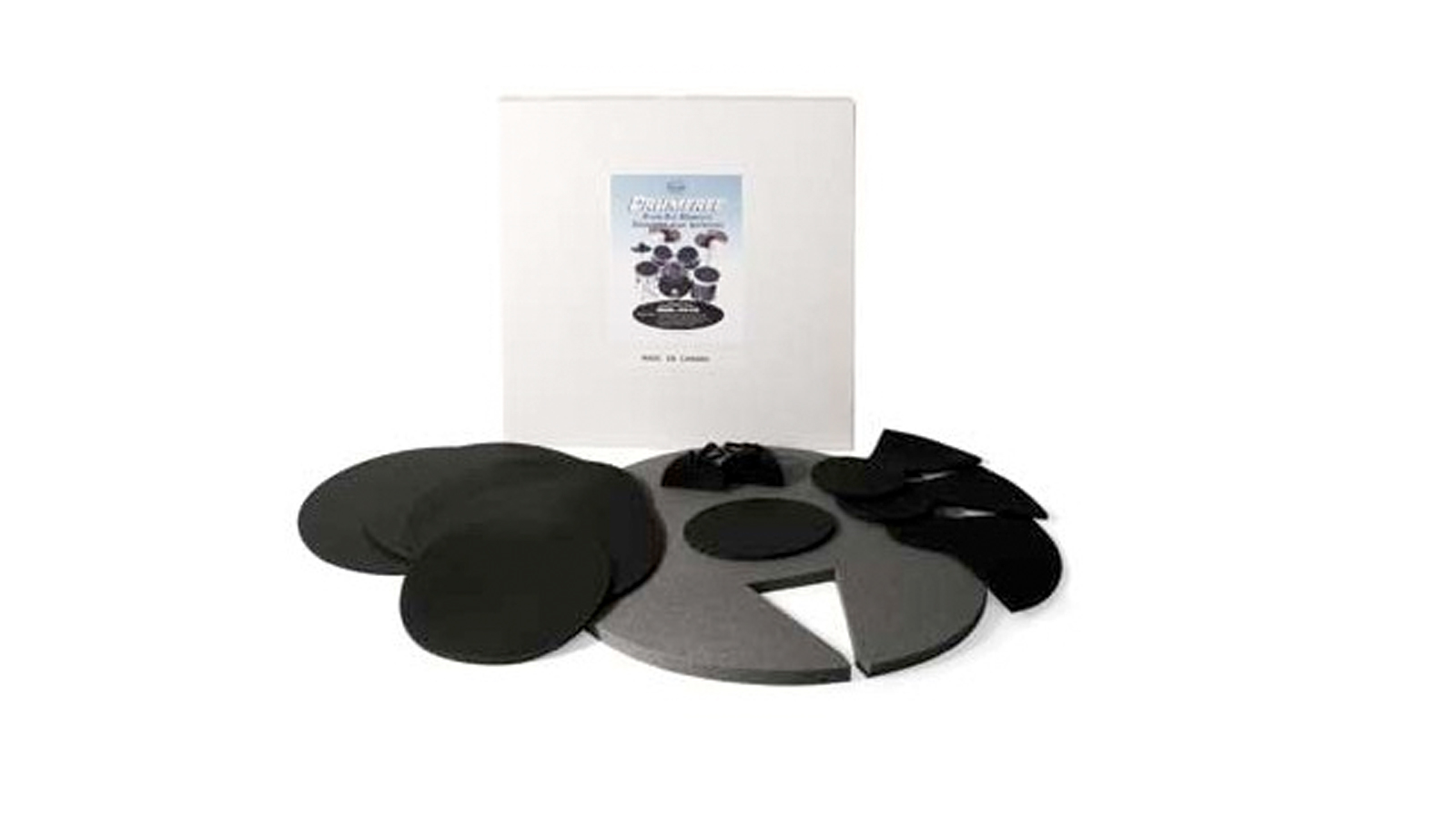Drumfree FK-F22 Silencer Drum Pad Set Fusion 22""