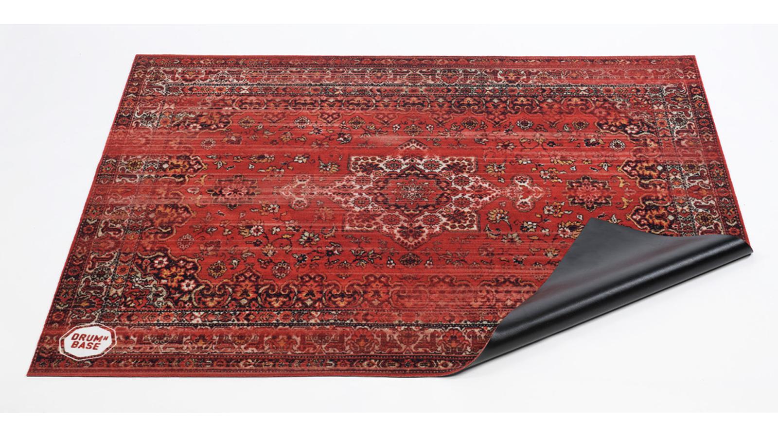 DRUM N BASE Vintage Persian Drumteppich RD rot