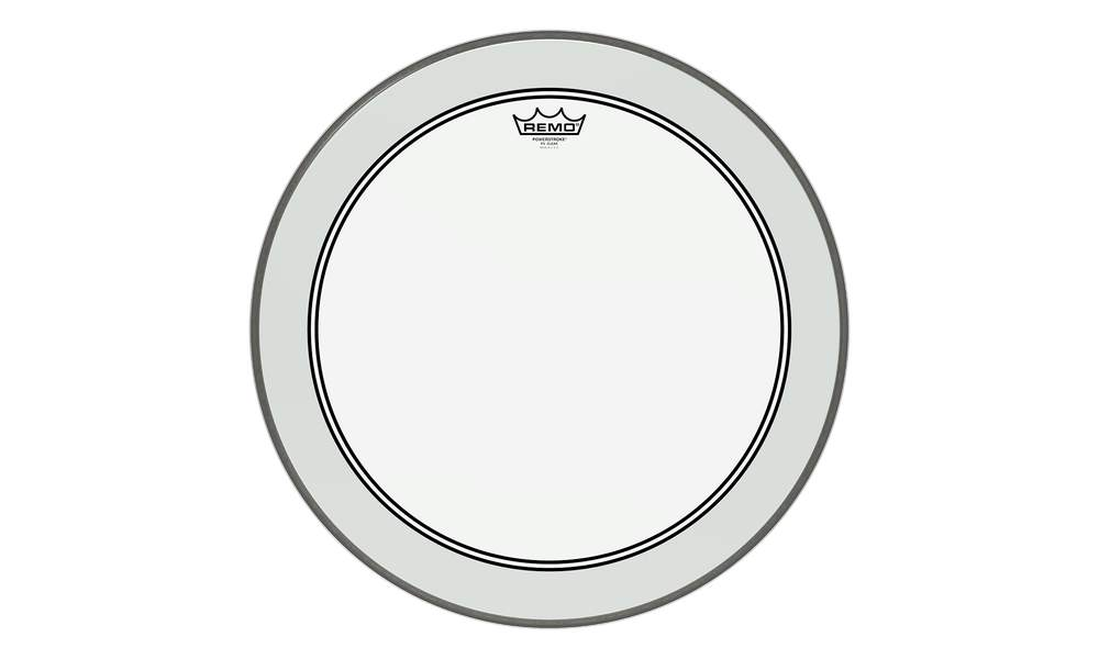 Remo Powerstroke 3 clear 13""