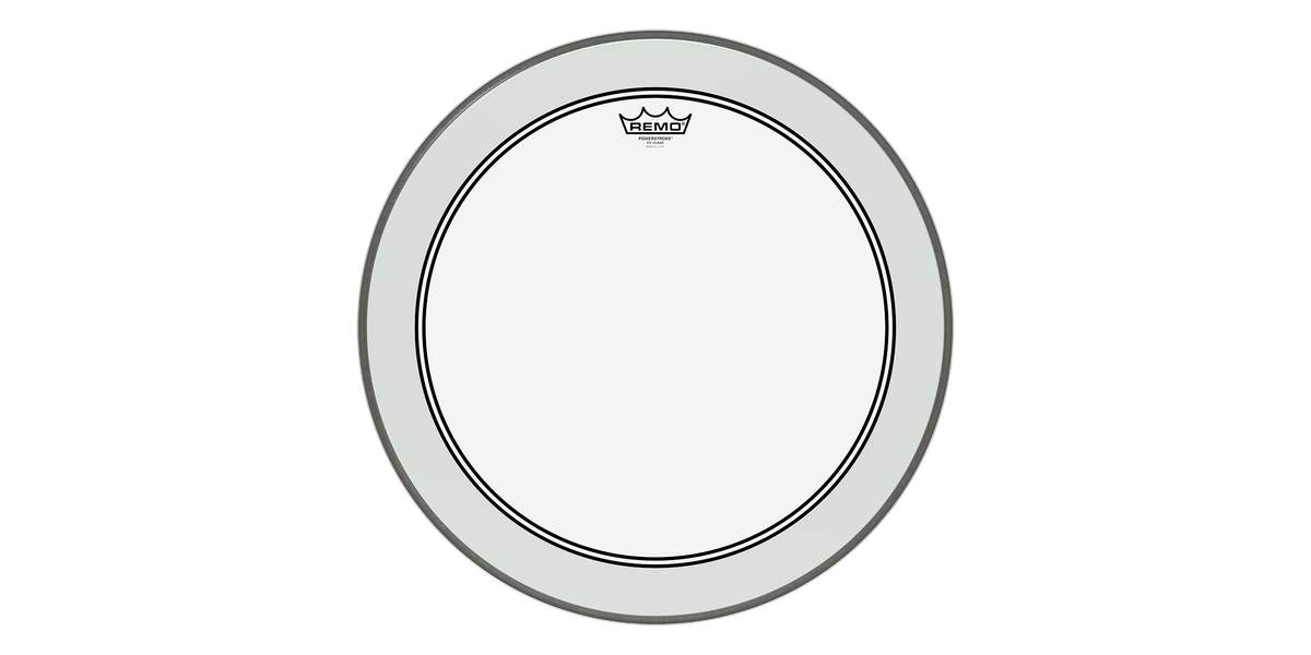 Remo Powerstroke 3 clear 24""