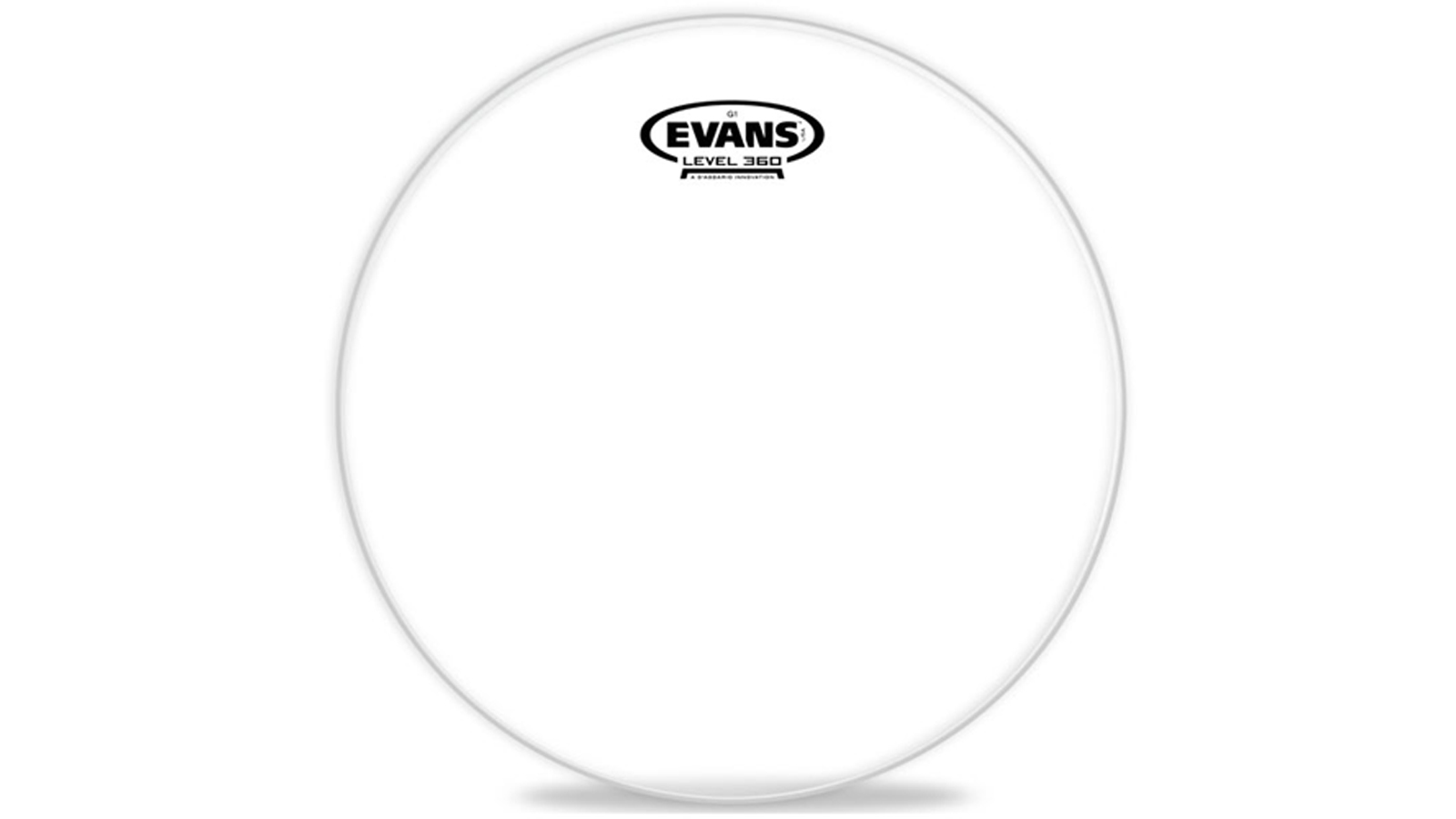 "Evans Genera G1 Clear 16"""