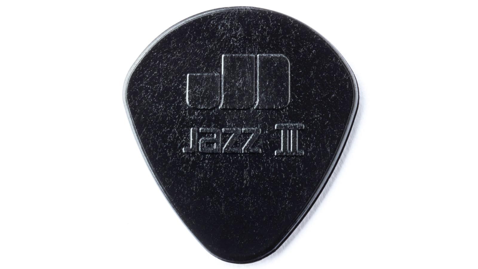 Dunlop Stiffo Jazz II Plektrum schwarz