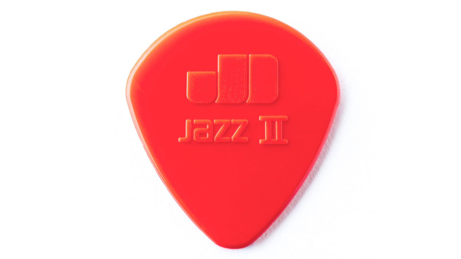 Dunlop Nylon Jazz II Plektrum rot