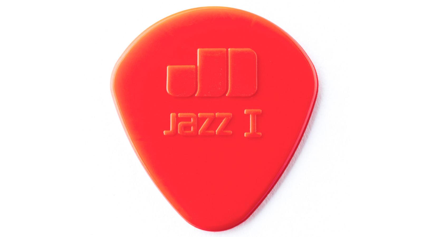 Dunlop Nylon Jazz I Plektrum rot