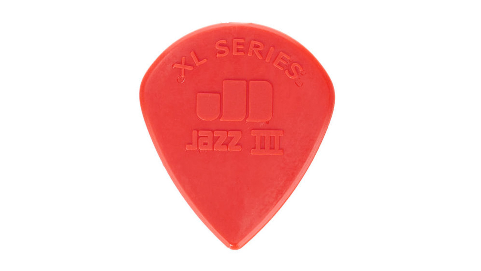 Dunlop Nylon Jazz III XL Plektrum rot
