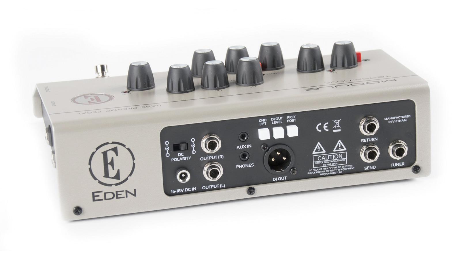 EDEN Terra Nova Module Bass Preamp Pedal