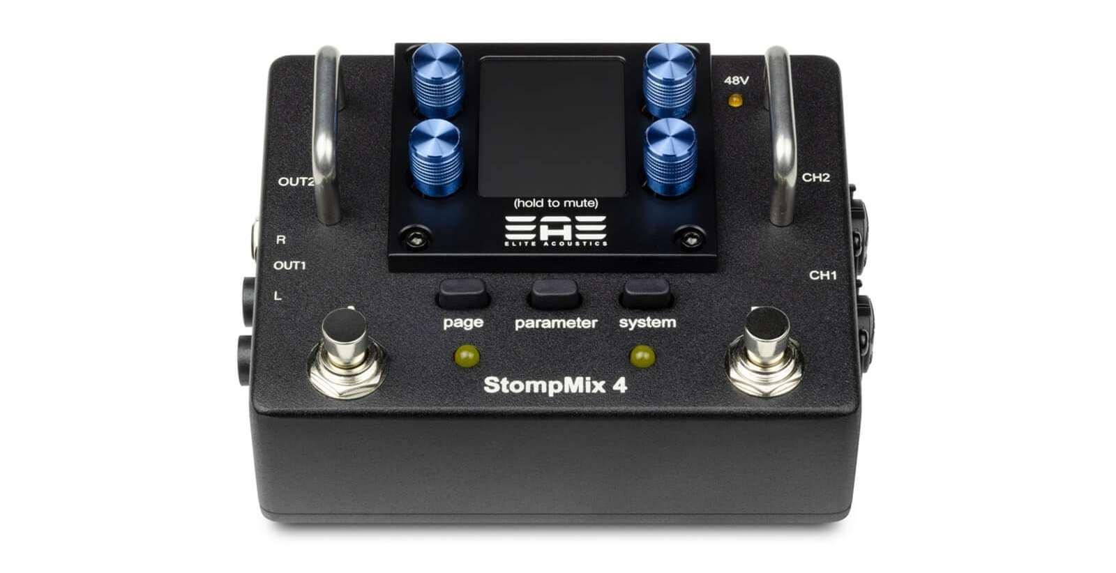Elite Acoustics Stompmix X4