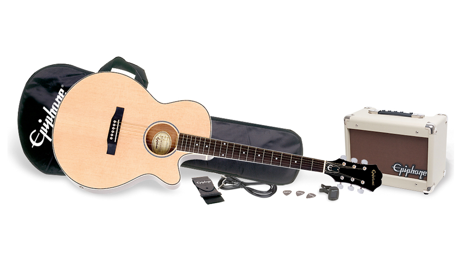 Epiphone PR-4E Acoustic Player Pack Natural
